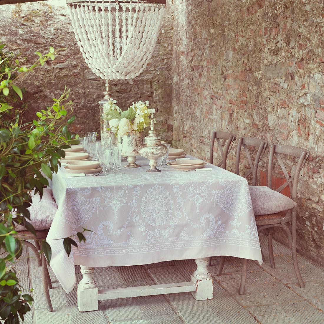 Blanc MariClo' - Apparecchiare en plein air - Blog