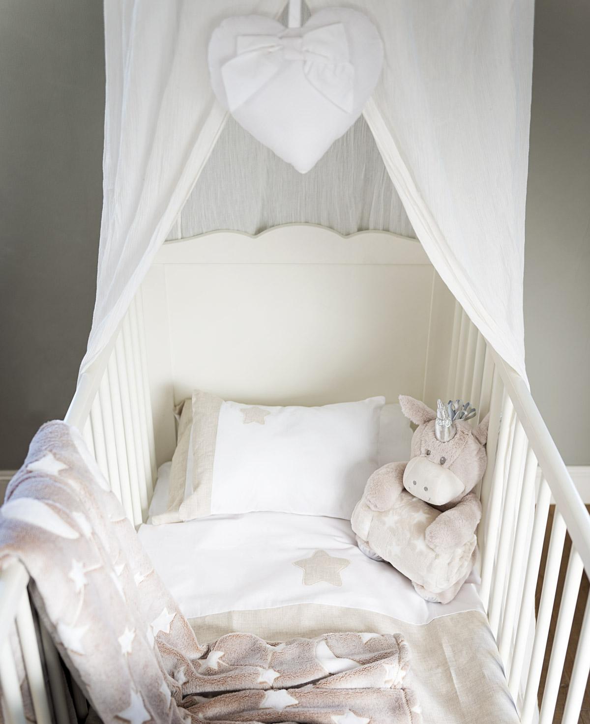 Blanc MariClo' Cameretta shabby chic per bambini tessuti e lettino - Blog
