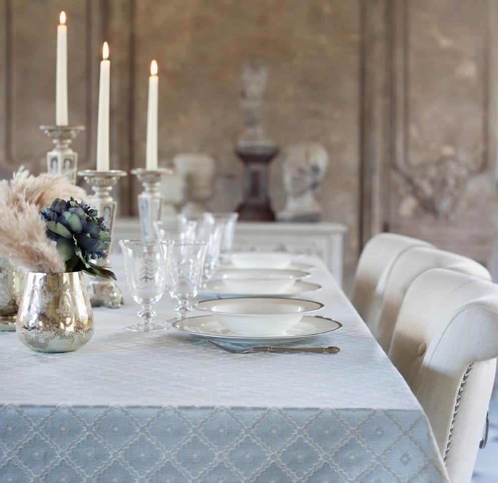 Blanc MariClo' - Tovaglia collezione Allure, servizio di piatti Le nozze di Figaro - Blog