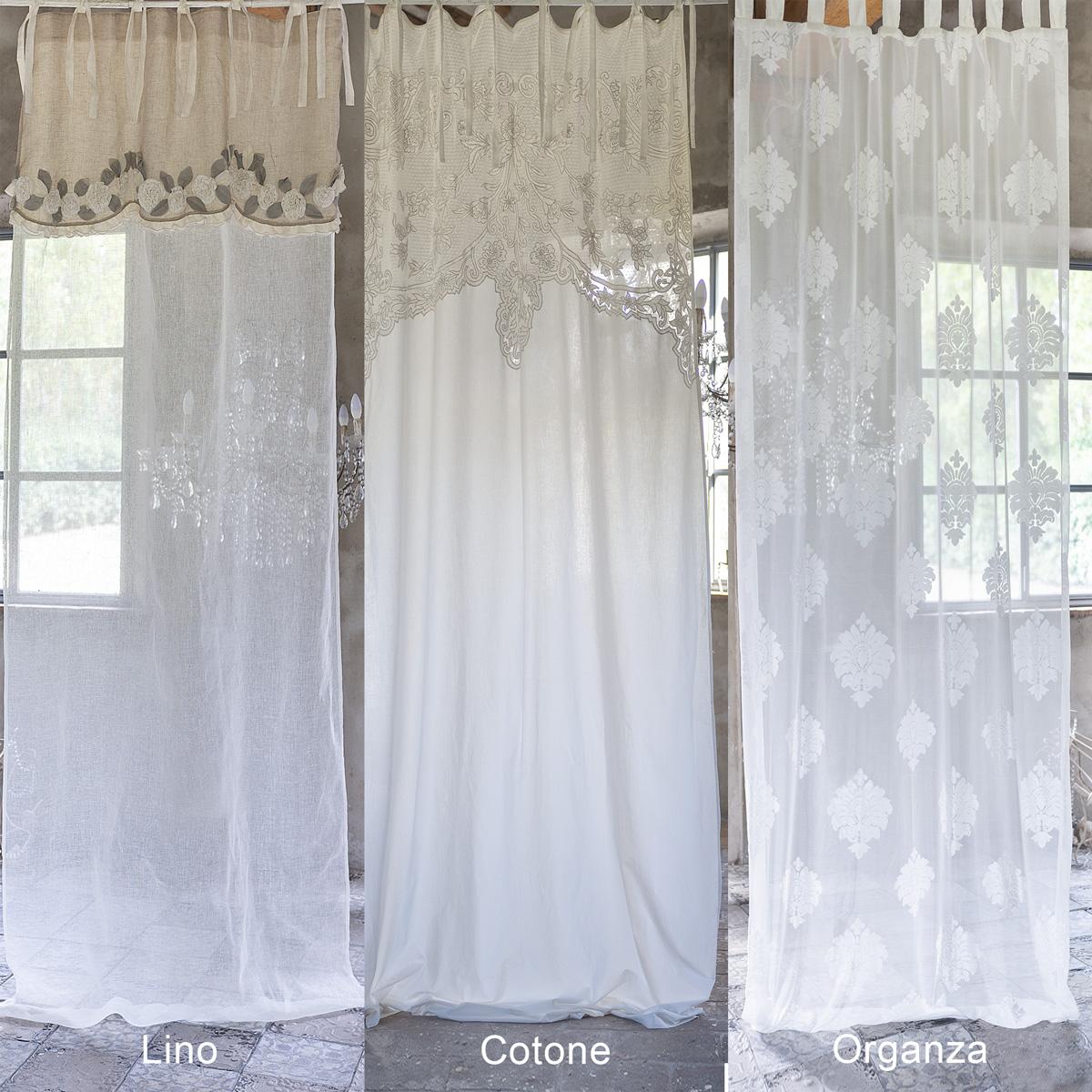 Tende Sala E Cucina arredare con le tende | blanc mariclò