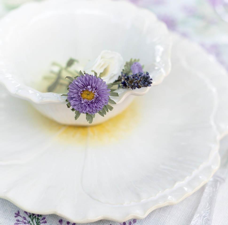 Blanc MariClo' - Servito di piatti Minuetto d'estate - Blog