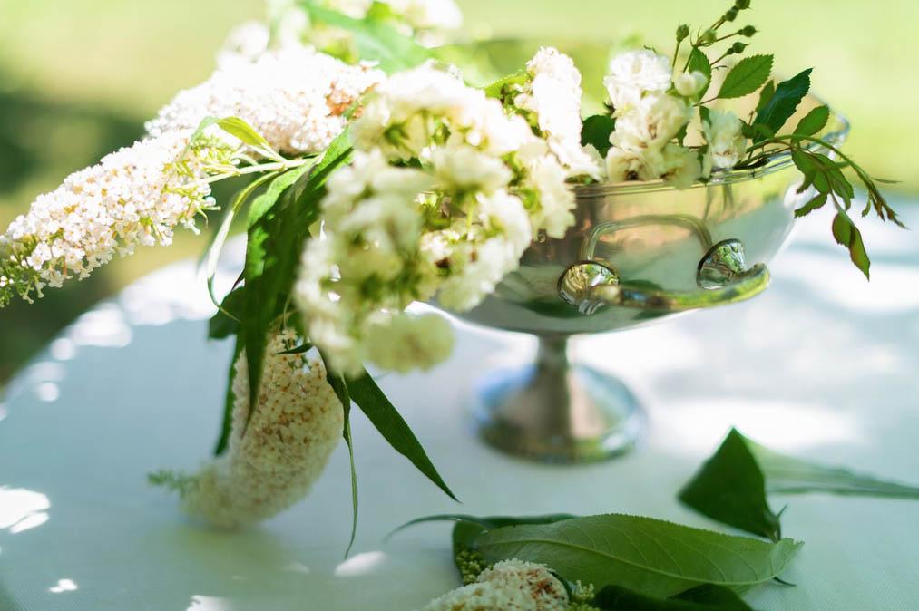 Blanc MariClo' - Centrotavola collezione Capriccio - Blog