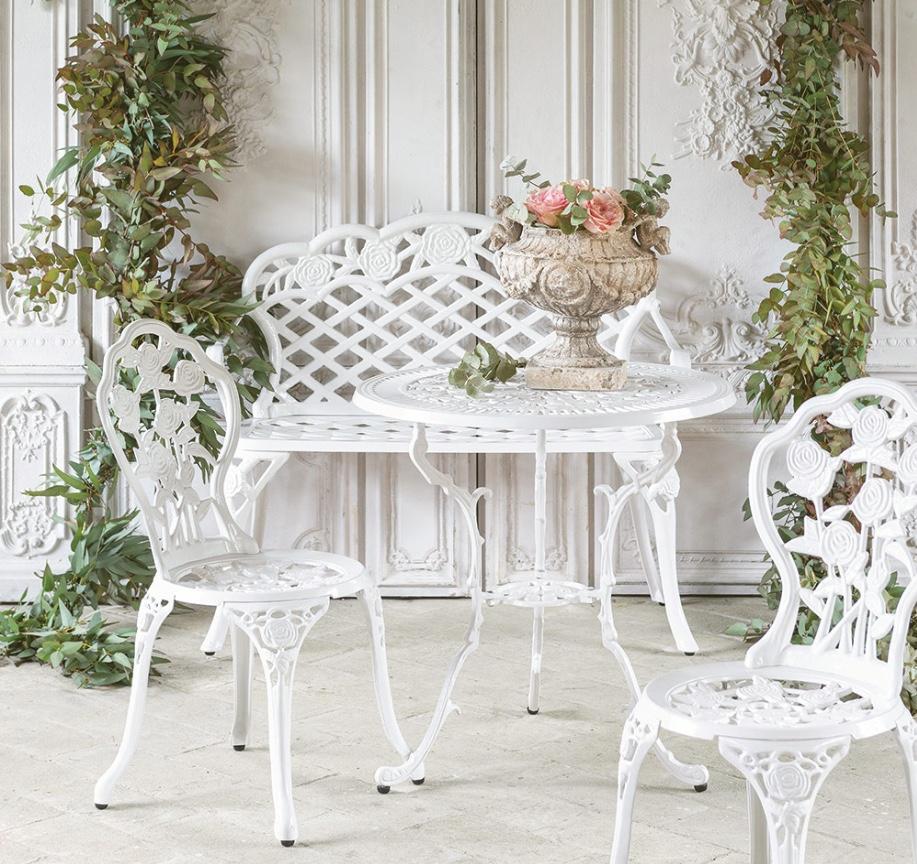 Blanc MariClo' - esterno shabby chic - Collezione Il giardino armonico - Blog