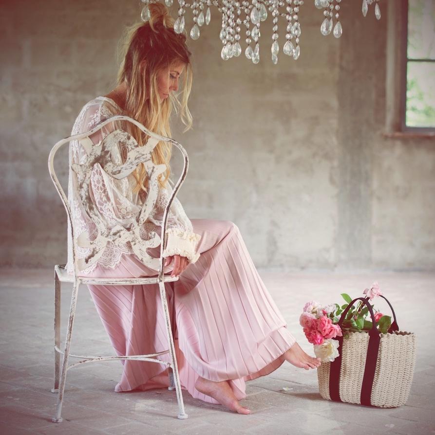 Blanc MariClo' - esterno shabby chic - Sedie Collezione Opera - Blog