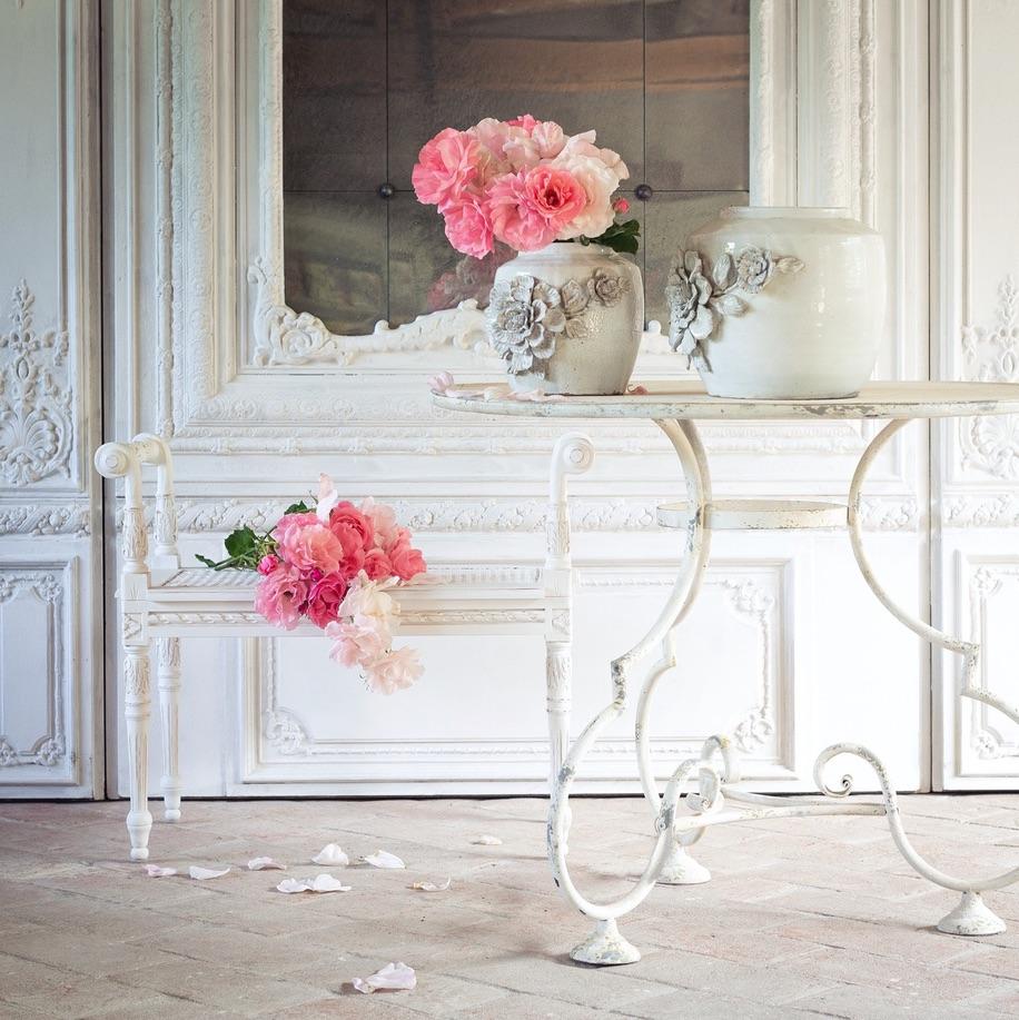 Blanc MariClo' - esterno shabby chic - Tavolo Collezione Opera - Blog