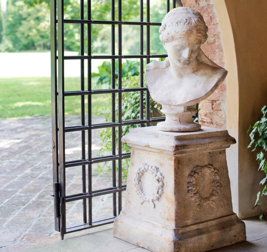 Blanc MariClo' - esterno shabby chic - Accessori collezioni Roma e Villa Borghese - Blog
