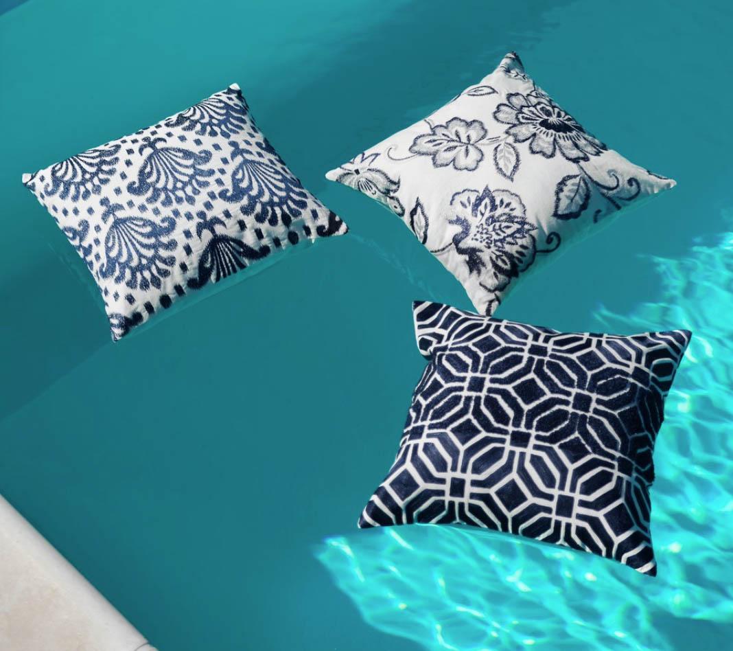 Blanc MariClo' - Speciale cuscini - Collezione Denim - Blog