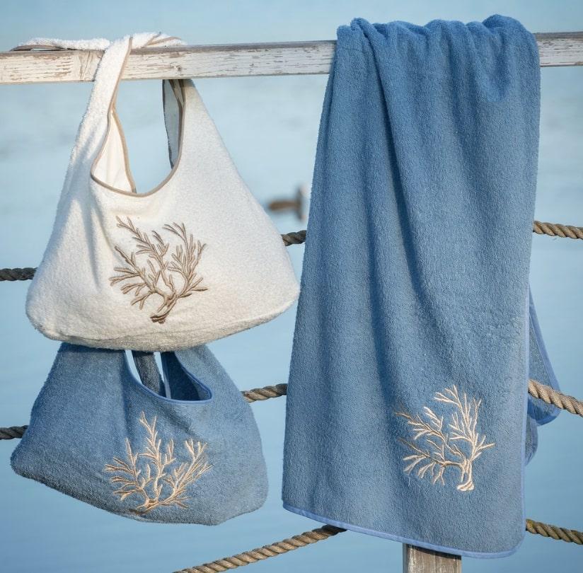 Blanc MariClo' - Teli mare collezione Corallo - Blog
