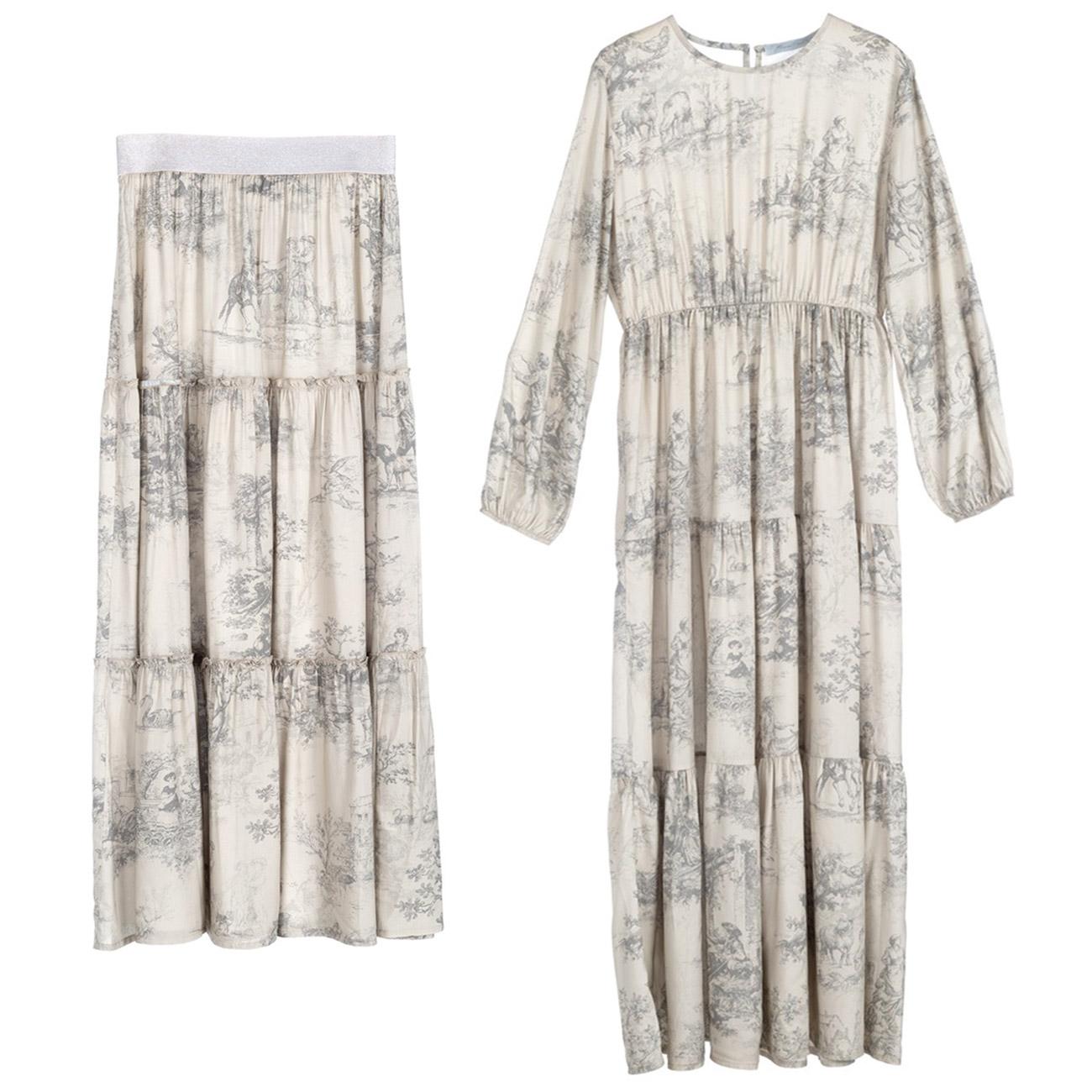 Blanc MariClo' Toile de Jouy - Abbigliamento