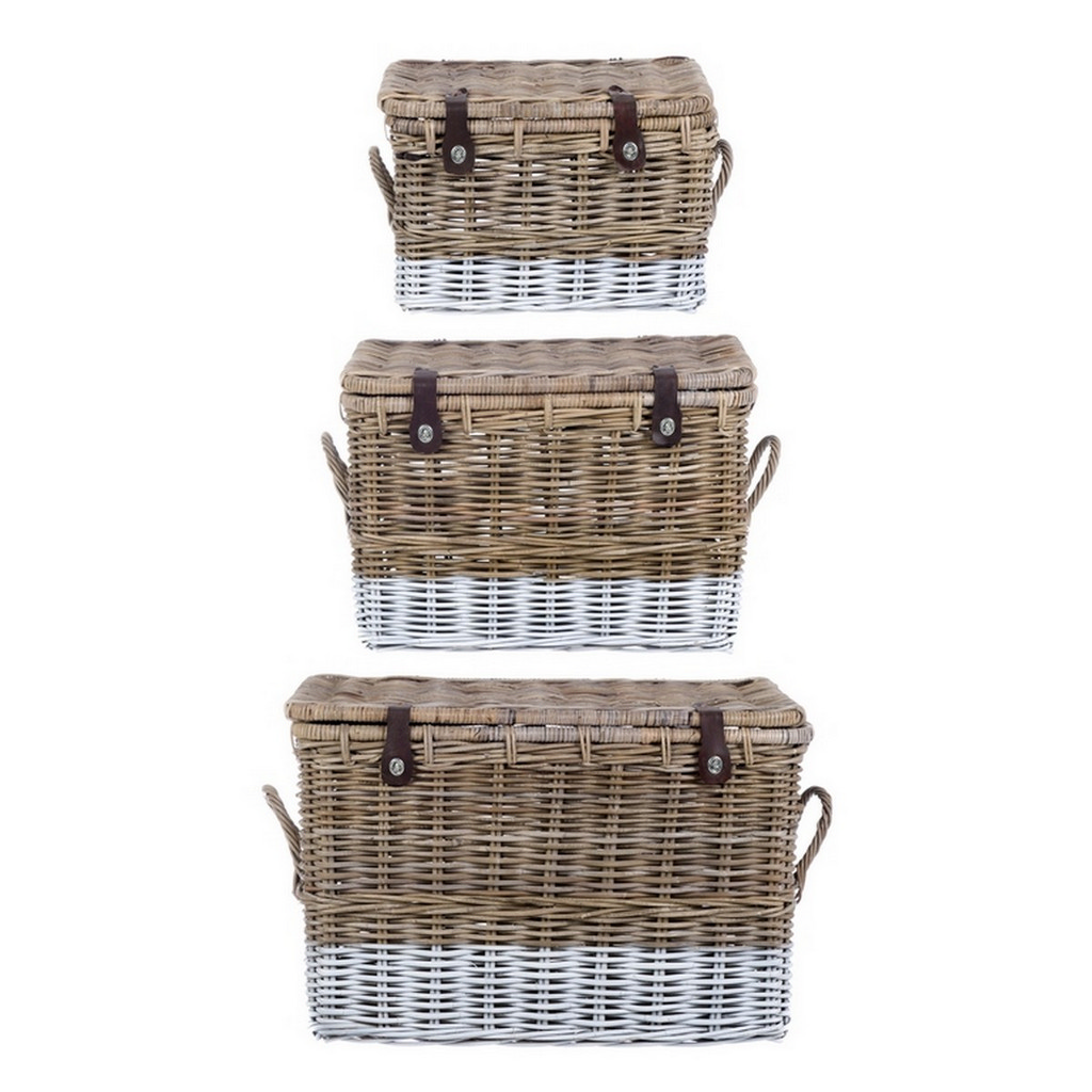 SET 3 BASKETS A15602