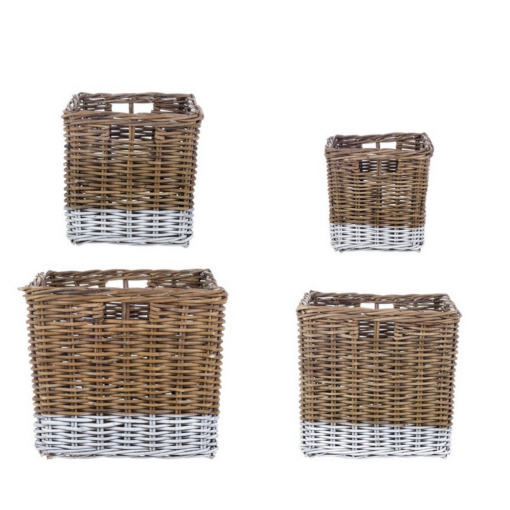 SET 4 BASKETS A15615