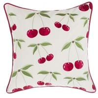 CUSHION WITH CHERRIES