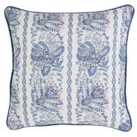 PRINTED CUSHION WITH PIPING