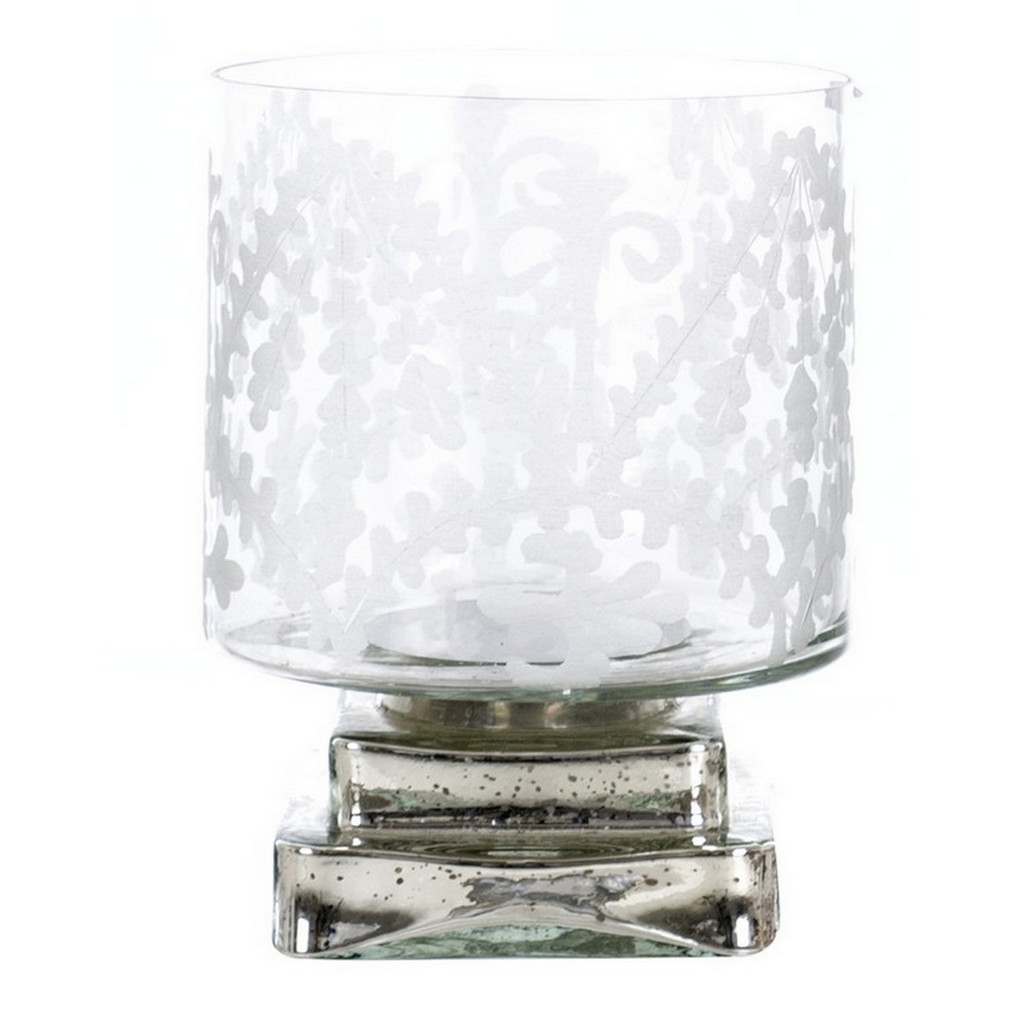 CANDELE HOLDERON DECORATIVE GLASS A27120