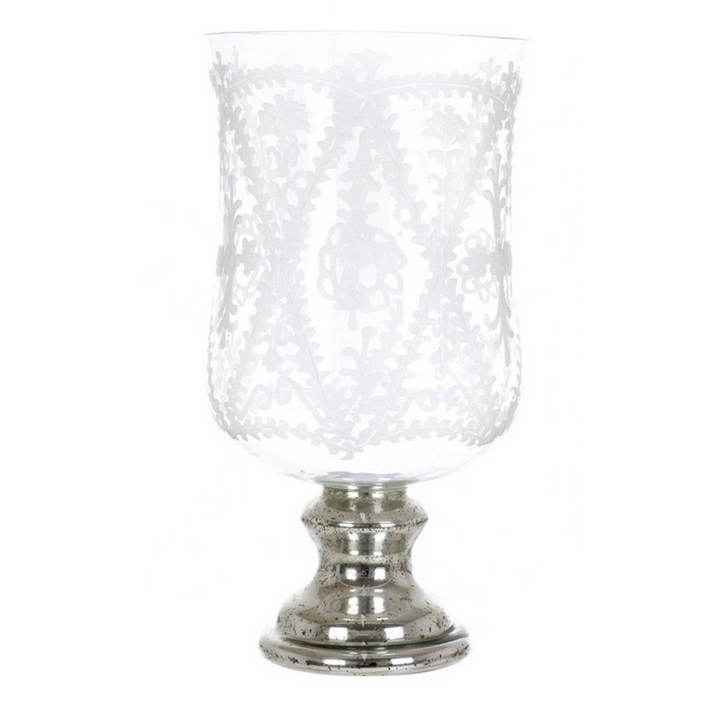 CANDELE HOLDERON DECORATIVE GLASS A27129