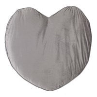 MAXI VELVET HEART CUSHION