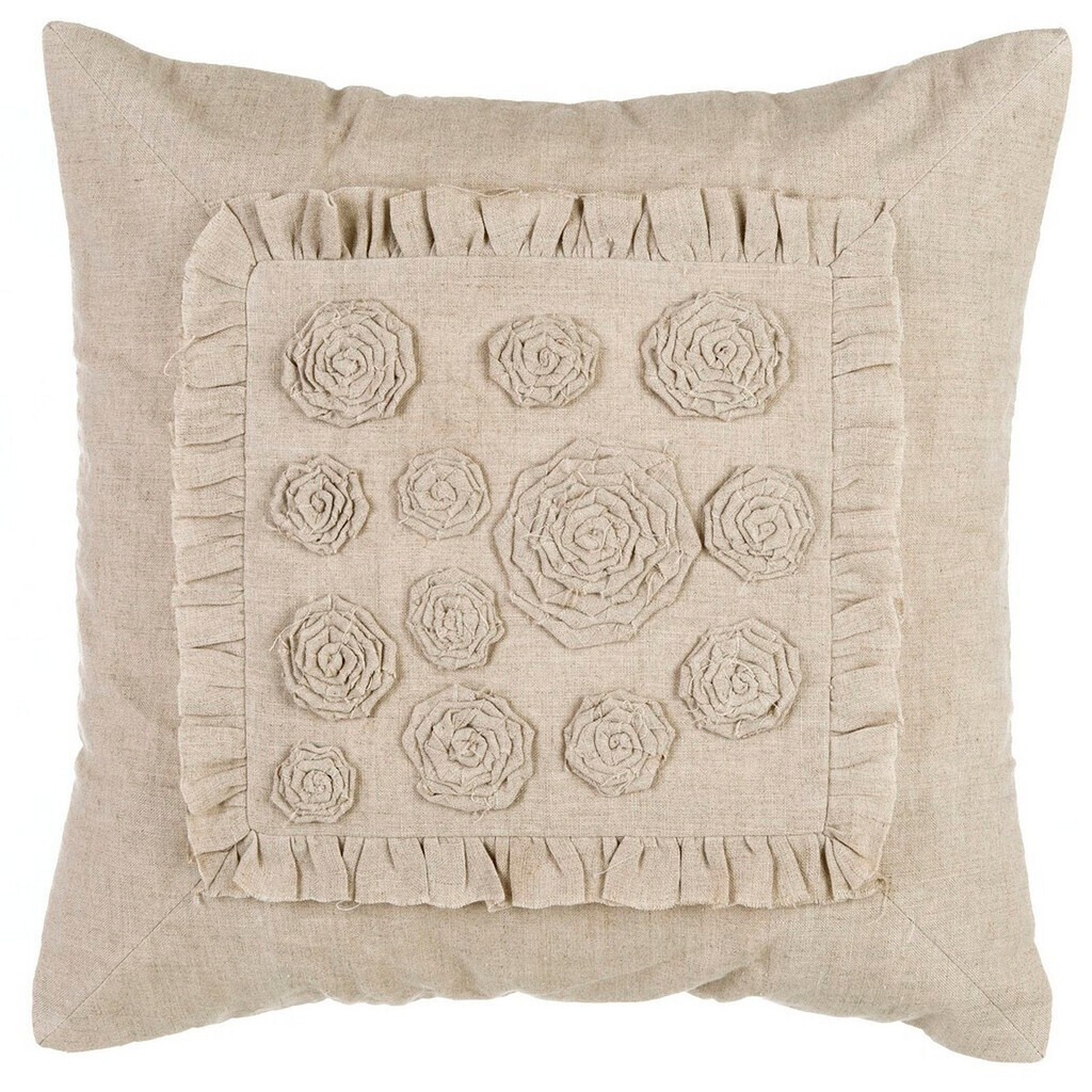 CUSHION WITH ROSES A28563