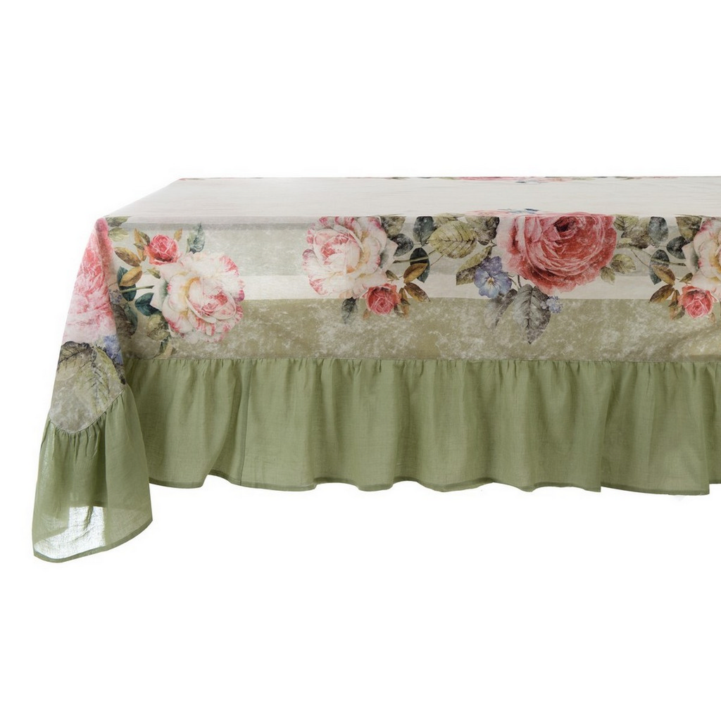 TABLE CLOTH WITH FRILL 25 CM A28729