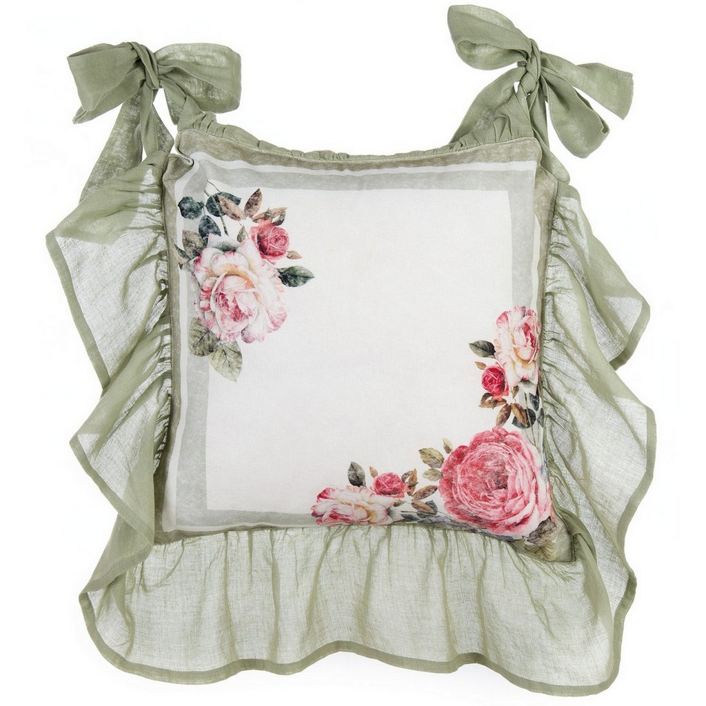 CHAIR CUSHION COVER WITH FRILL A28733