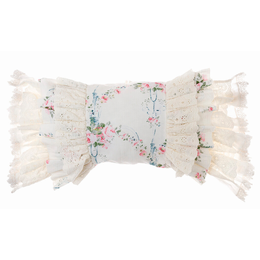 CUSHION WITH FRILLS A30481